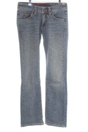 Blaumax Straight-Leg Jeans blau Casual-Look