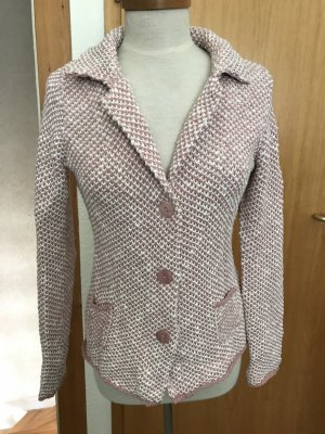 Blaumax Knitted Cardigan rose-gold-coloured-natural white