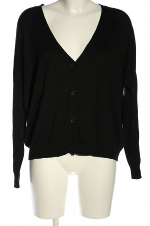Blaumax Strickjacke schwarz Casual-Look