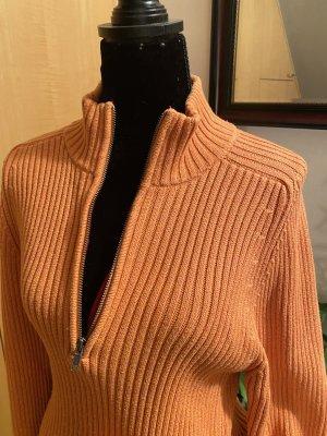 Blaumax Pull tricoté orange foncé