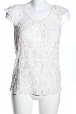 Blaumax Strickshirt weiß Casual-Look