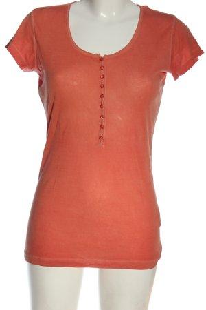Blaumax T-shirt orange clair style décontracté