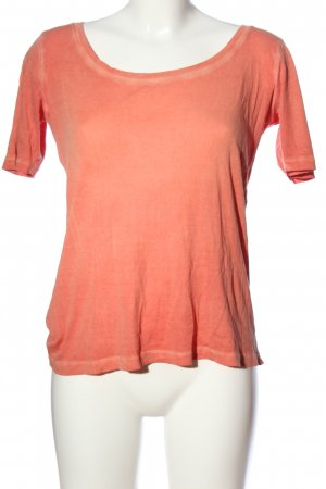 Blaumax T-Shirt light orange casual look