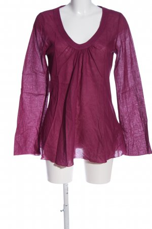 Blaumax Transparent Blouse lilac casual look
