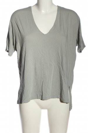 Blaumax V-Neck Shirt light grey casual look