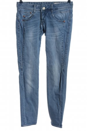Blaustoff Herrlicher Low Rise Jeans blue casual look