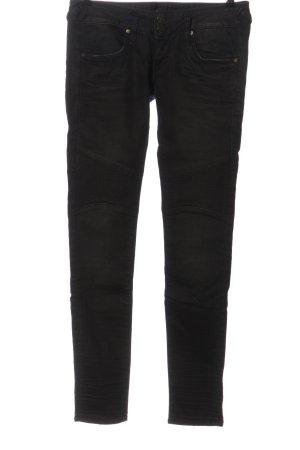 Blaustoff Herrlicher Slim Jeans black casual look