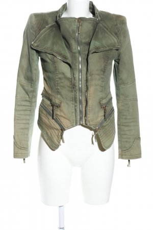 Blaze Short Jacket khaki casual look