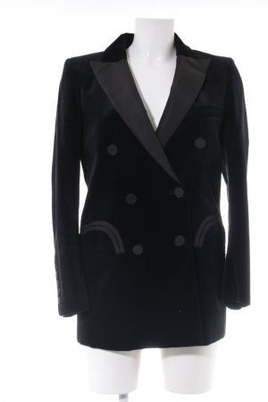 Blaze Long Blazer black-light grey business style