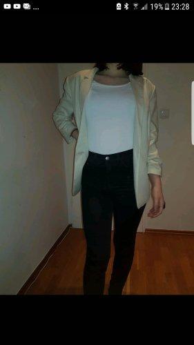 H&M Unisex blazer room-licht beige