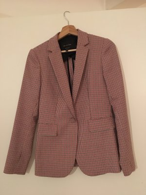 Massimo Dutti Tweed Blazer rose-gold-coloured-brown
