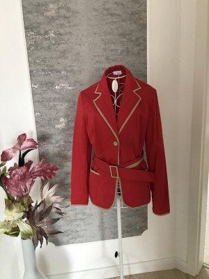 Alba Moda Short Blazer camel-red