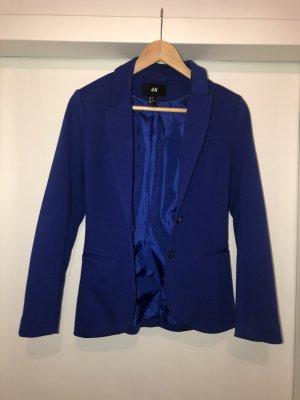 H&M Unisex blazer donkerblauw-blauw
