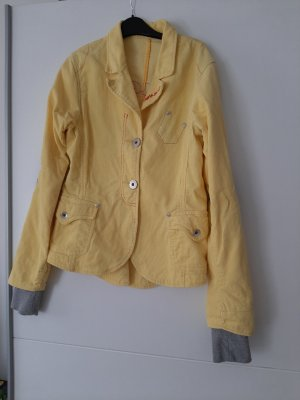 Guess Veste en jean jaune