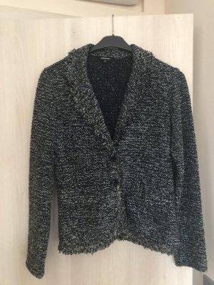 More & More Gebreide blazer antraciet Acryl