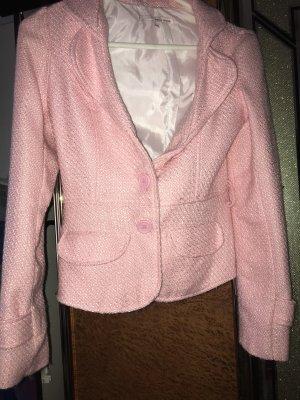 Tally Weijl Blazer in maglia rosa pallido