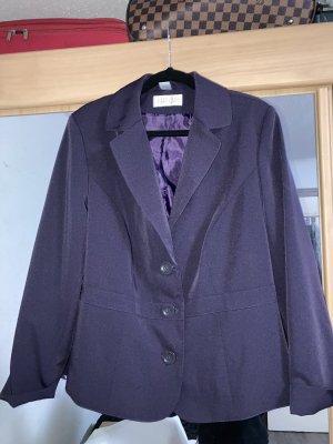 Blazer Boyfriend violeta amarronado-violeta oscuro
