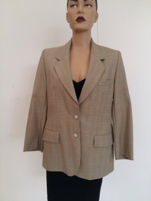 Burberrys' Blazer in tweed beige-marrone scuro