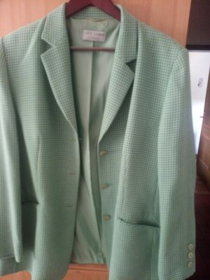 city combi Long Blazer steel blue-lime-green