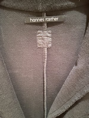 Hannes Roether Boyfriend Blazer dark green cotton