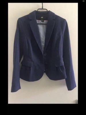 H&M Klassischer Blazer blue