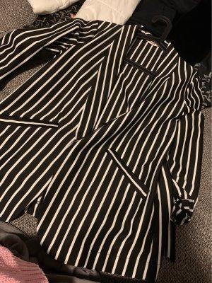 Orsay Blazer sweat blanc-bleu foncé