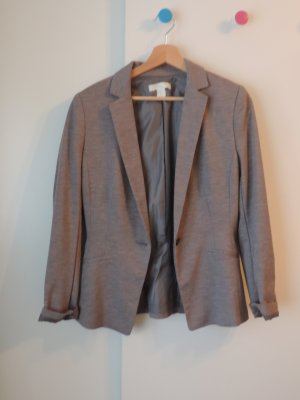 H&M Sweat Blazer grey polyester