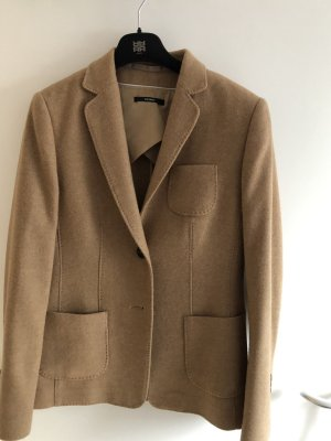 Windsor Blazer in lana color cammello-beige