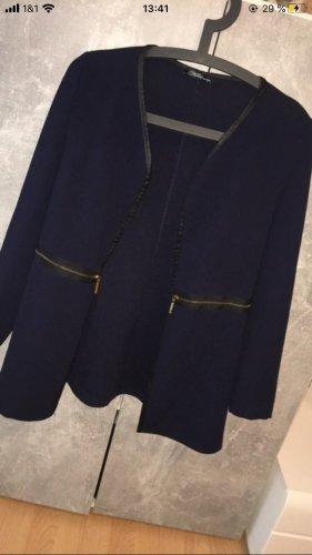 Jersey Blazer dark blue