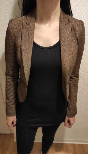 C&A Clockhouse Blazer en tweed doré-marron clair