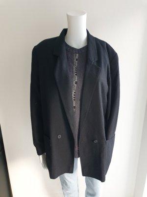 Blazer 38 schwarz Oversize jacke Pullover Mantel Pulli bomberjacke cardigan strickjacke Trenchcoat True Vintage