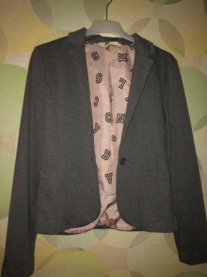 H&M Abito business argento-color oro rosa