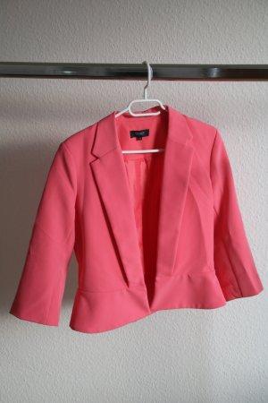 Manguun Korte blazer roze