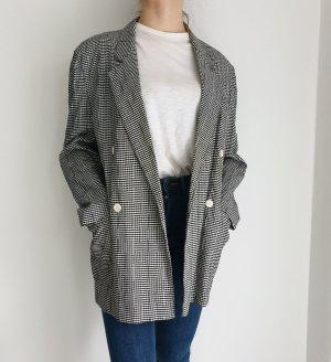 Vintage Oversized Jacket white-black