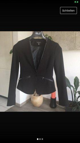 Amisu Blazer de esmoquin negro