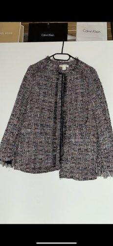 H&M Knitted Blazer grey