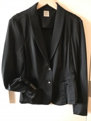 Culture Blazer in jersey nero Poliestere