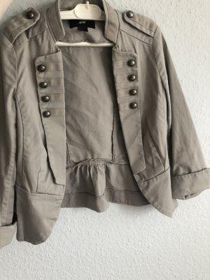H&M Divided Short Blazer grey-light grey