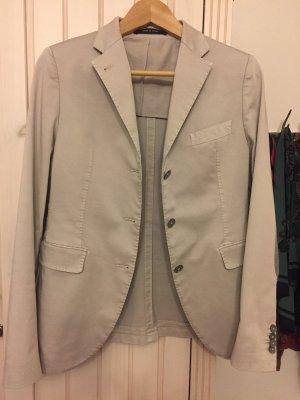 Tagliatore Wool Blazer light grey