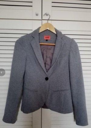 Bershka Tweed Blazer light grey