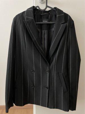 Vero Moda Blazer largo negro-gris