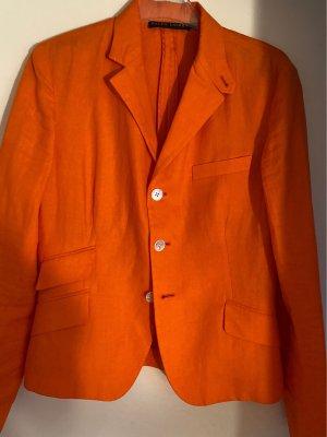 Ralph Lauren Korte blazer oranje