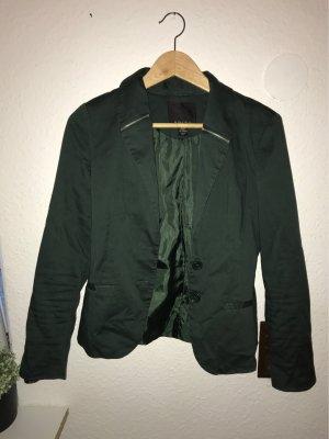 Amisu Jersey Blazer dark green