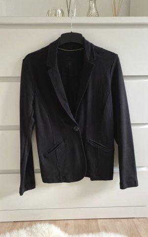 Tom Tailor Blazer in jersey nero