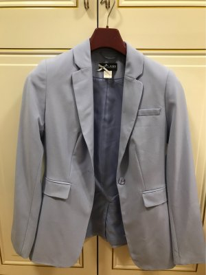 Class International Tuxedo Blazer baby blue