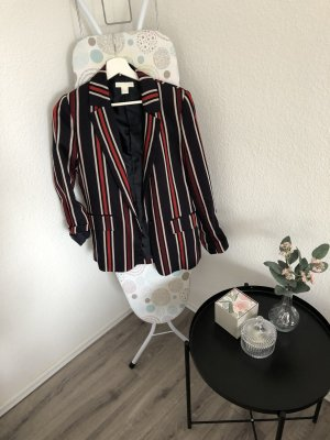 H&M Jersey Blazer rojo-azul oscuro