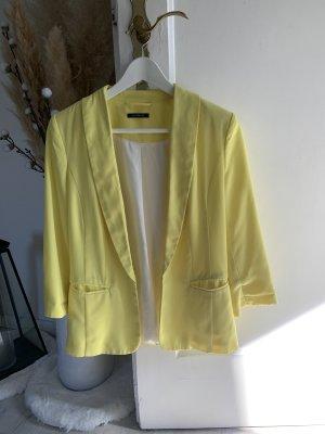 Promod Klassischer Blazer geel-sleutelbloem