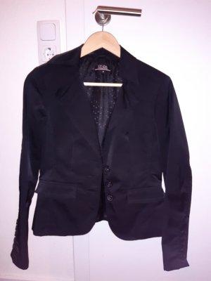 17&co Klassischer Blazer noir nylon