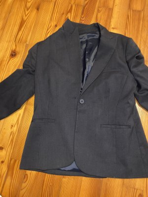 Blazer sweat blu-blu scuro