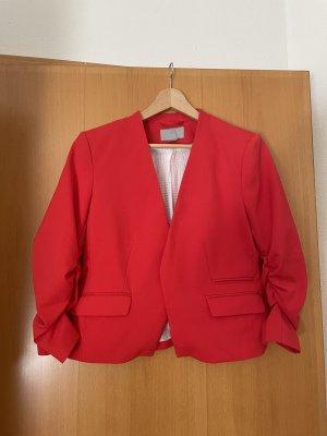 H&M Korte blazer rood